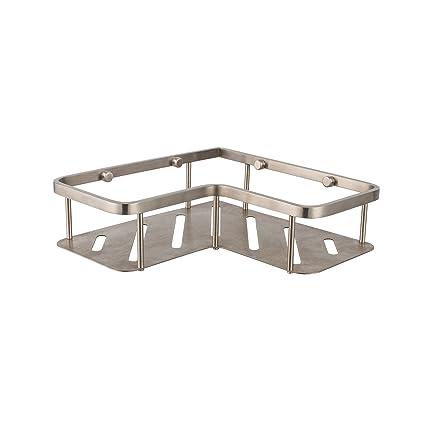 Amazon.com: Maykke Blossom Wall Mounted Corner Shower Basket ...