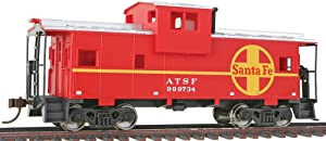 Walthers Trainline HO Scale ModelAtchison, Topeka & Santa Fe Vision Caboose, Model:931-1503