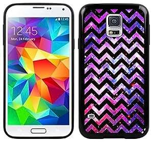 Chevron Nebula Handmade Samsung Galaxy S5 Black Case