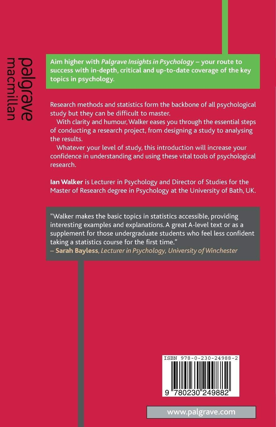 Research Methods and Statistics (Palgrave Insights in