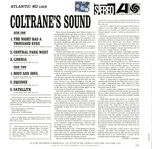 Amazon | Coltrane's Sound [12 ...