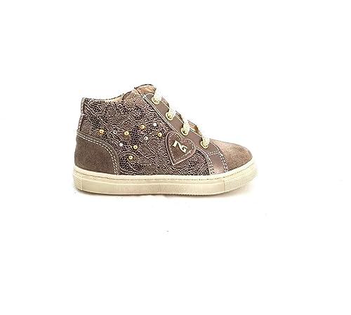 Nero Giardini Calzature - Zapatillas de Sintético para niña Beige TóRTOLA: Amazon.es: Zapatos y complementos