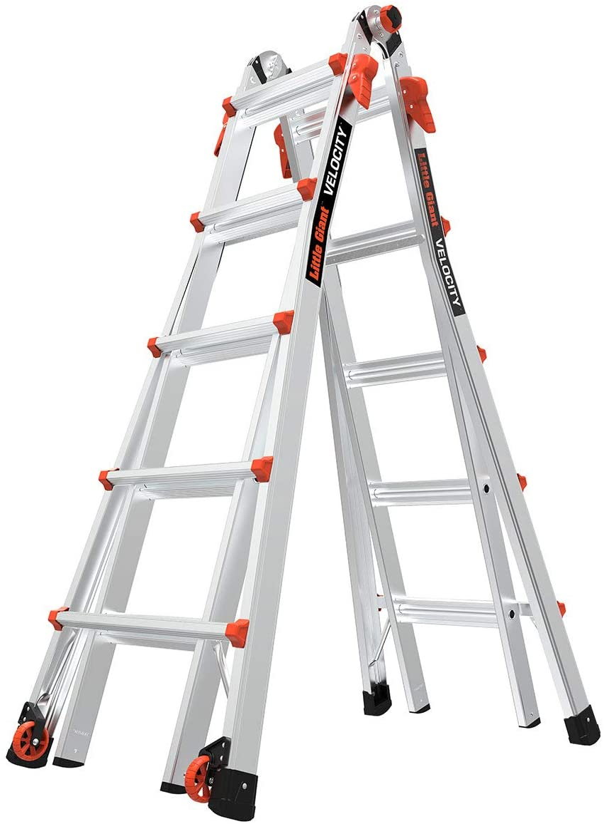 Little Giant Ladders, Velocity, M22, 6-18 foot, Multi-Position Ladder