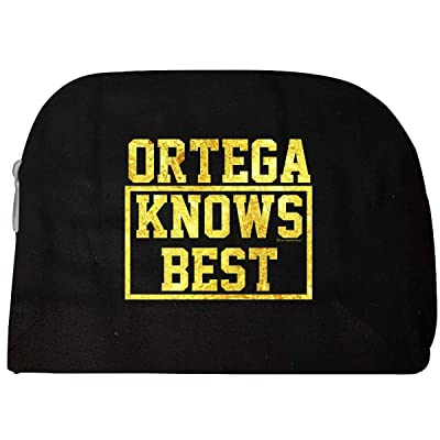 Ortega Knows Best. Cool Gift Idea For Friends - Cosmetic Case best
