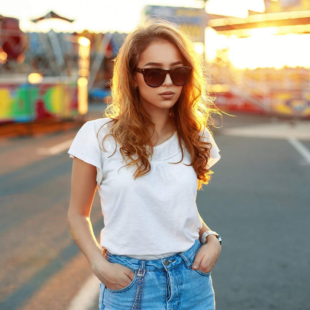 Cadena Tipo Cartera 4 Unidades Redcherry Cadena de Jeans con Cierres de Langosta para Hombre y Mujer Cadena de Bolsillo