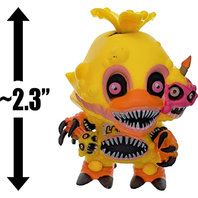 "Funko Twisted Chica: ~2.3"" Mystery Minis x Five Nights at Freddy's - Sister Location Mini Vinyl Figure [28816J]: Toys & Games"