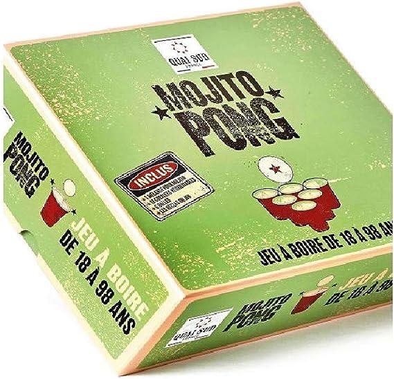 Quai Sud Mojito Pong - Juego de beber de 18 a 98 años: Amazon ...