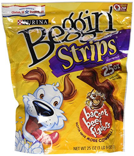 Beggin' Strips Beef & Bacon - 25 Oz