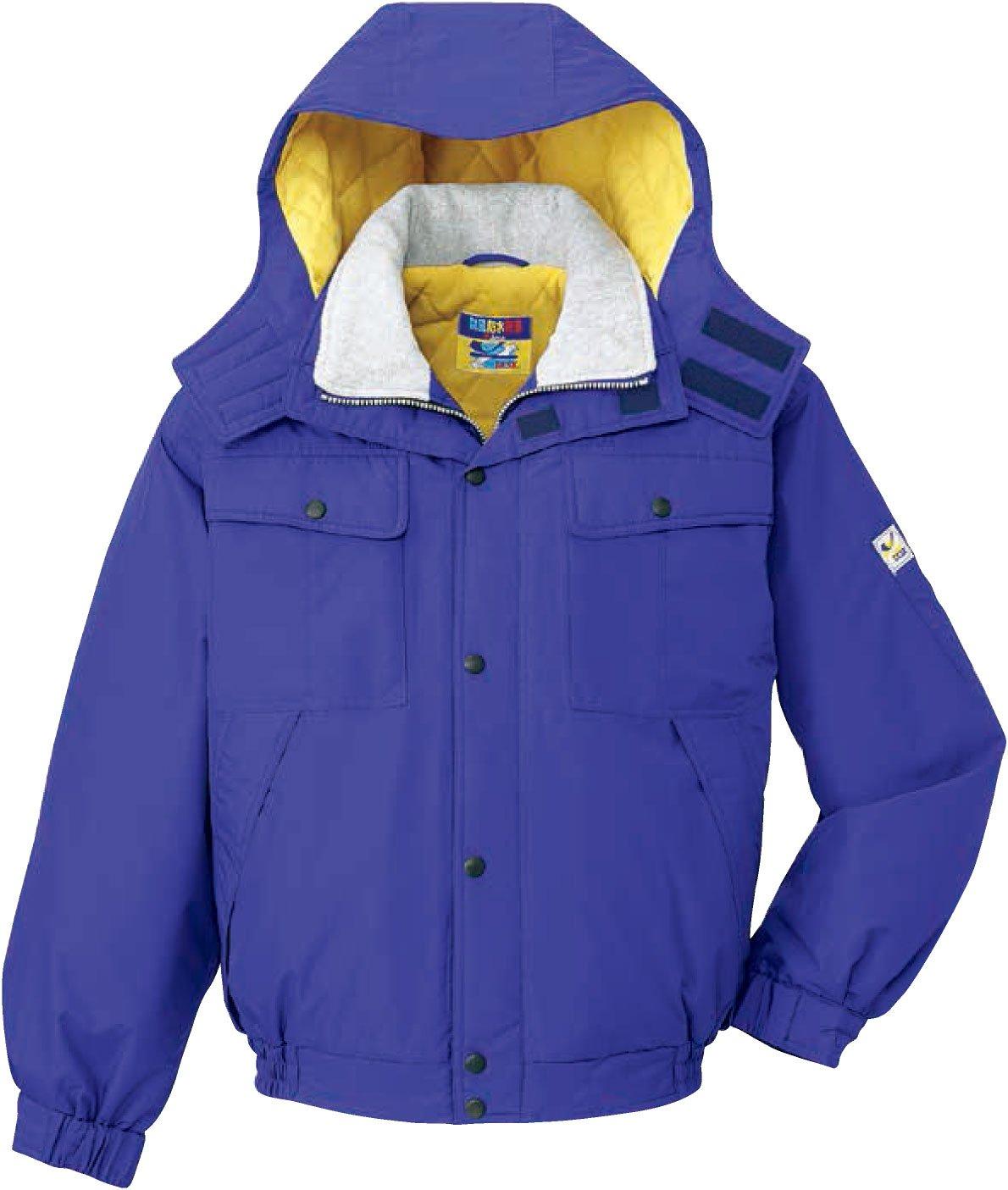 自重堂(JICHODO)防寒ブルゾン雨 雪 風 寒さ。悪天候からワーカーを守るシリーズ jd-28060 B01BNFRVMK LL|パープル パープル LL
