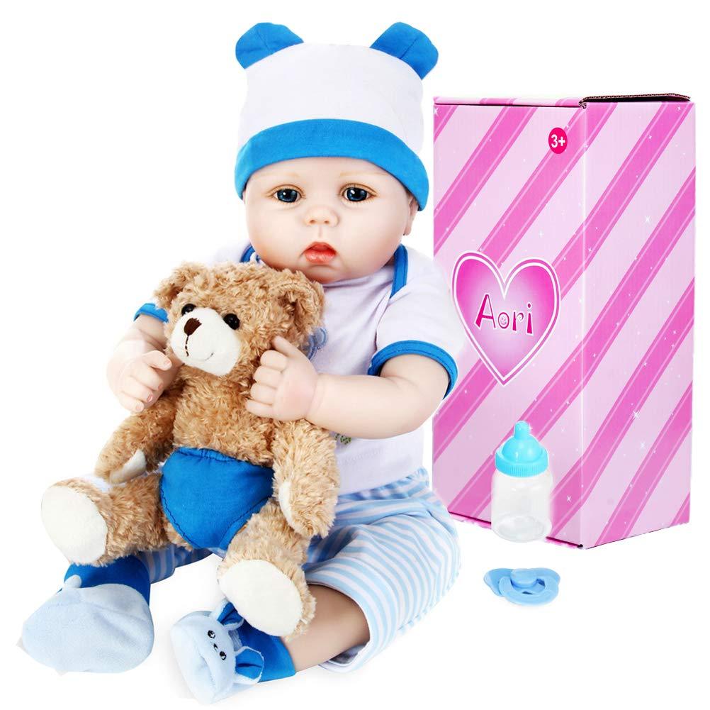 Aori Lifelike Realistic Reborn Baby Boy Doll