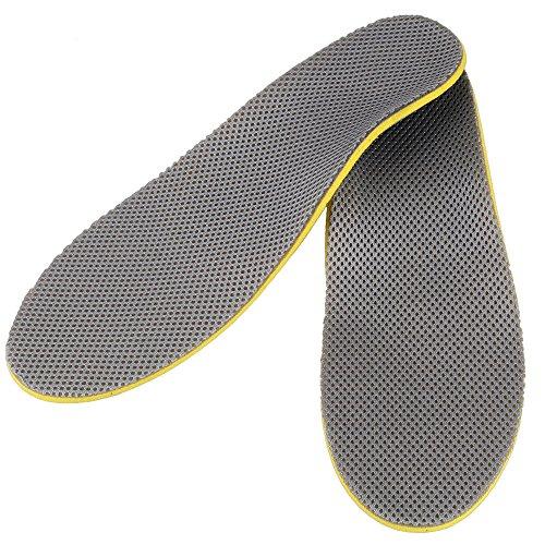 Orthopädische flach Füße, Relief Pads Sport Schuhe Einlegesohlen für Herren Ferse Fußgewölbe