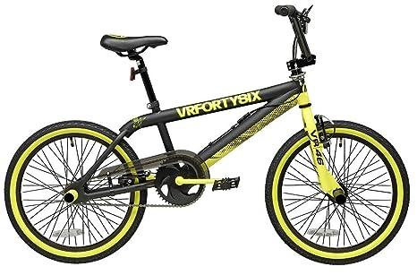 Bicicletta Da Freestyle 20 Cicli Adriatica Vr46 Bmx Freestyle Gialla