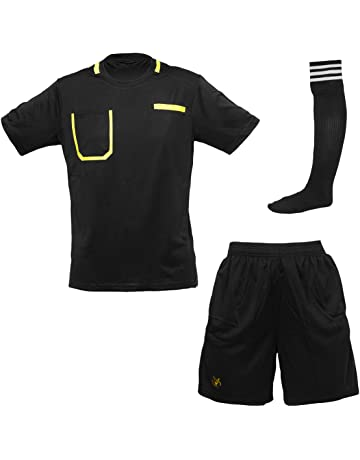 a0f33542714 Viper 2018 2019 Football Referee Shirt Soccer Kit Set Top Socks Shorts  Sleeves Uniform Sport