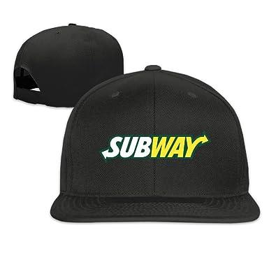 JOKEme Subway Logo Adjustable Cap Baseball Flat Hats  Amazon.ca  Clothing    Accessories a78c9d2848f