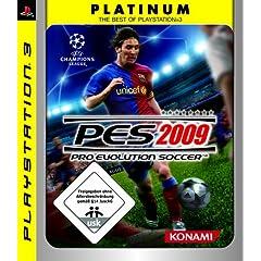 Pro Evolution Soccer 2009 - Platinum