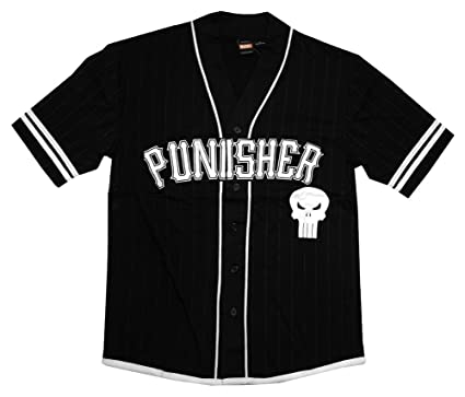e65ce3a92 Amazon.com  The Punisher 74 Men s Jersey Style T-Shirt  Clothing