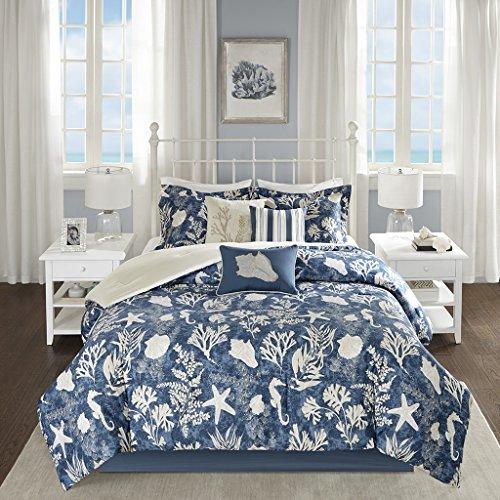 Madison Park Cape Cod Comforter Set, Blue