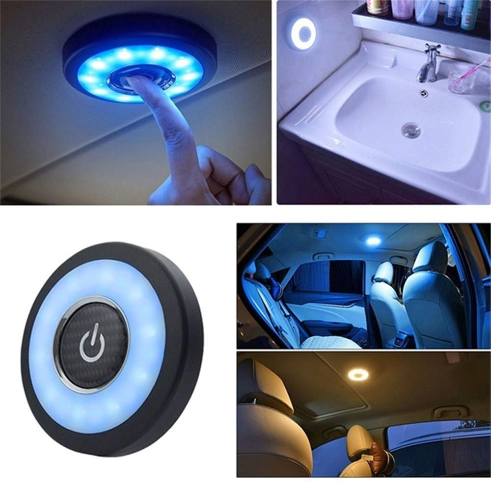 BESTEU 32mAh Auto Interior Car Roof Led Lamp Stick Night Light Usb Charging Reading Led Light