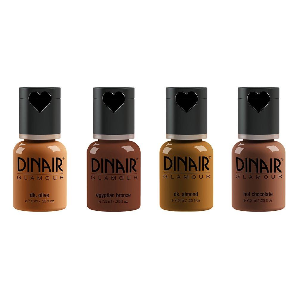 Amazon.com : Dinair Airbrush Makeup Foundation   Tan Shades ...
