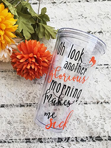Hocus Pocus Inspired Tumble - Another Glorious Morning Makes Me Sick - Custom Funny Halloween Tumbler • Sarcastic Tumbler • Fall Party - What Is 2 Priority Mean Mail Day