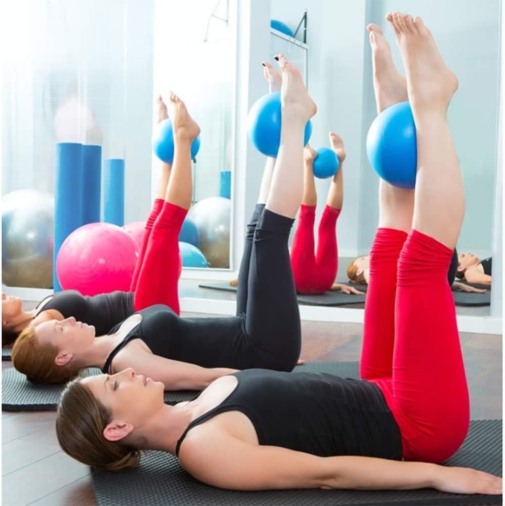 TOCYORIC Pilates Ball 3 PCS 25 cm Kleiner /Übungsball Kerntraining und Physiotherapie Yoga Mini Soft Pilates Ball Anti-Rutsch-Anti-Burst-Fitness-Fitnessball Perfekt f/ür Pilates