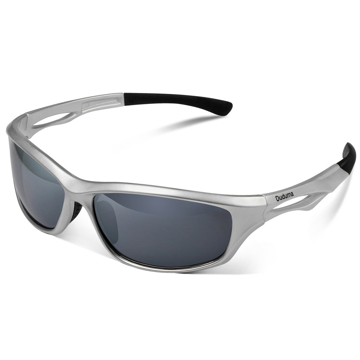 0e569ed8bd Duduma Polarized Sports Sunglasses for Baseball Running Cycling Fishing  Golf Tr90 Unbreakable Frame (silver black)  Amazon.ca  Sports   Outdoors