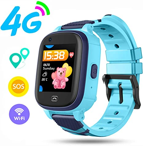 Amazon.com: OOLIFENG Kids Smart Watch for Boys Girls, 4G ...