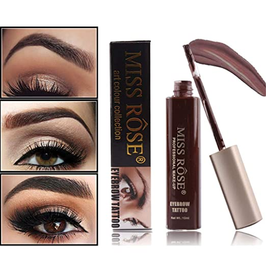 Amazon.com : Makeup Eyebrow Shadows Waterproof For Eyebrow Henna Gel Eyebrows Enhancers Eye Brow Paint Tattoo Pencil Cosmetics Set 02 : Beauty