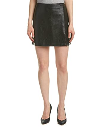 Blank NYC Womens Vegan Leather Mini Skirt in Break The Ice at ...