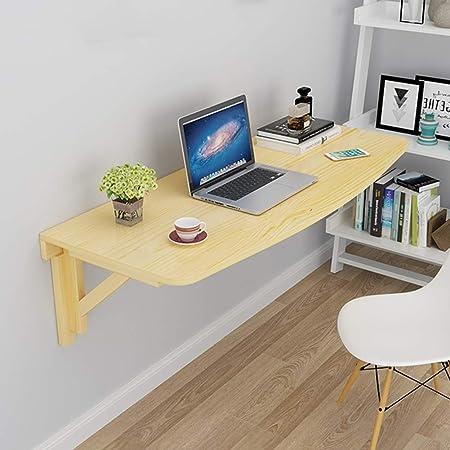 HUYYA Plegable Mesa de Pared, Mesa para Comer Escritorio Mesa para ...