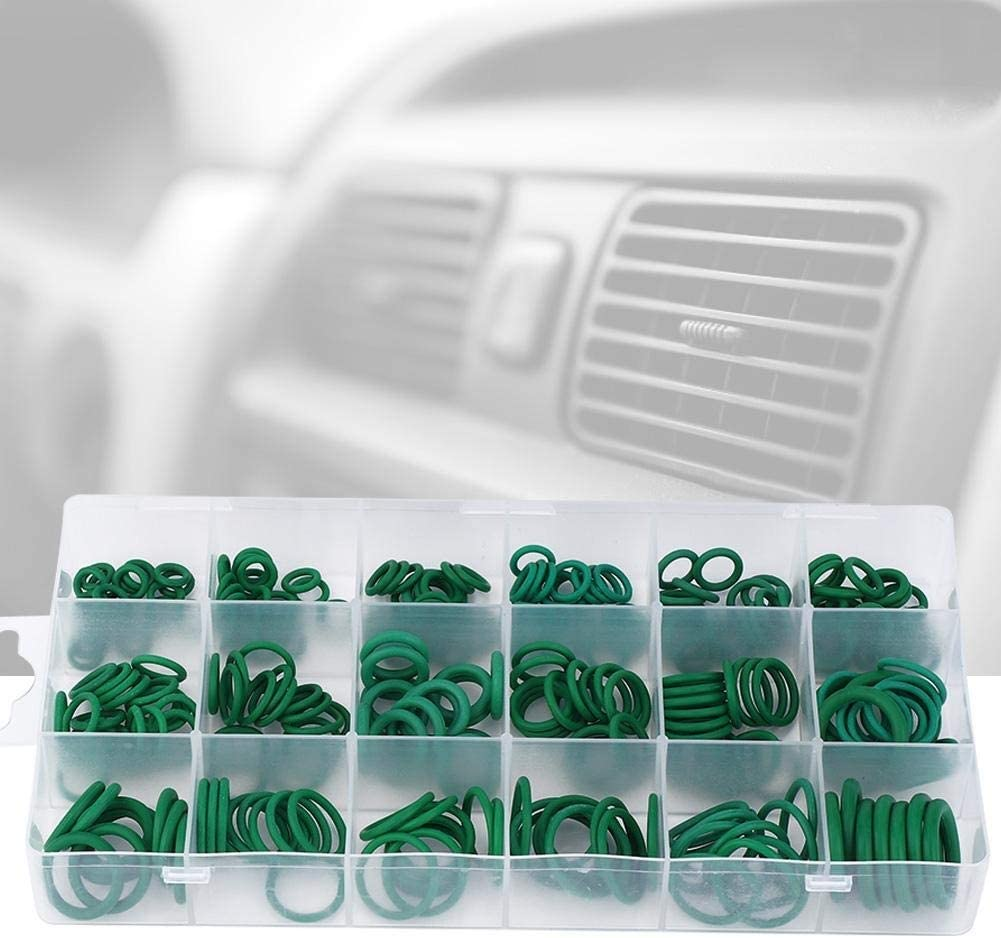 Beennex 270 Pcs O-Ring High Temperature Resistant Sealing Buna-N Rubber Ring Assortment Kit