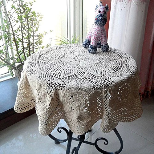 Crocheted Tablecloth - 6