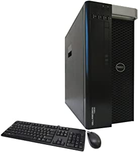 Dell Precision T3600 Workstation, 1x Xeon E5-2650 2GHz Eight Core Processor, 32GB DDR3 Memory, 1x 2TB Hard Drive, NVIDIA Quadro 2000, DVD-RW, Windows 10 Professional 64-bit Installed, (Renewed)
