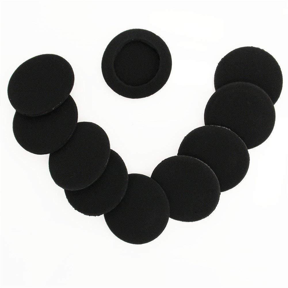 10 Unidades Almohadillas de Espuma de Repuesto para Auriculares JVC HA-L50 Sony MDR Series