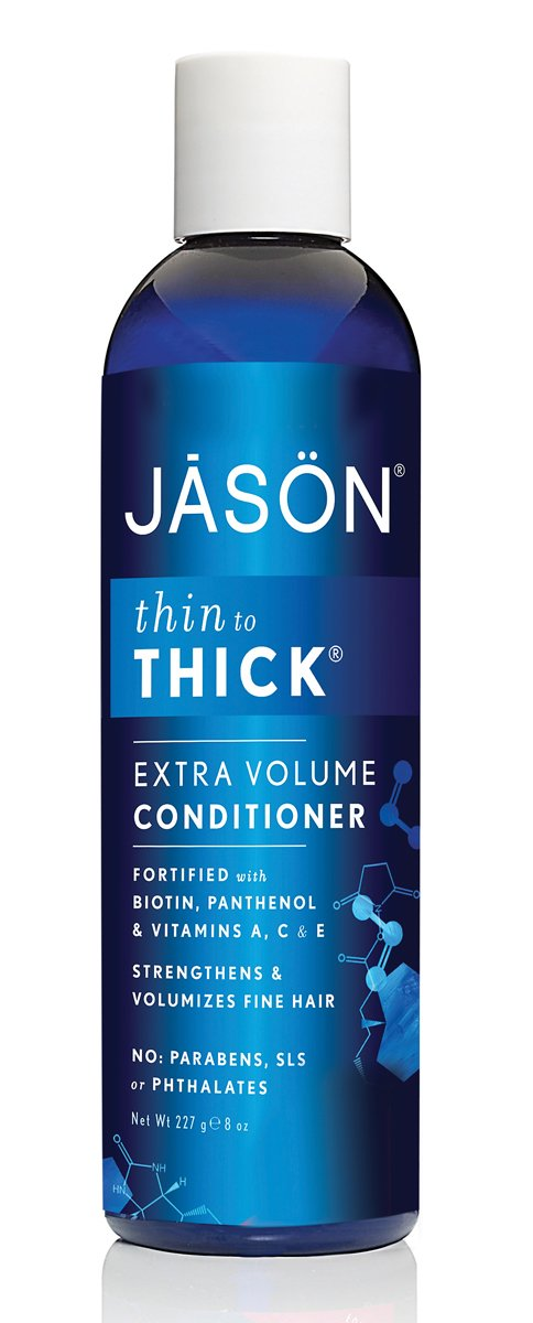 Jason Thin-to-Thick Extra Volume Conditioner, 8 Ounces