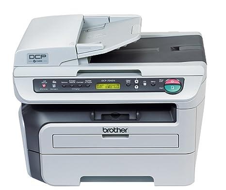 Brother DCP-7045N - Impresora multifunción láser (22 ppm, A4 ...