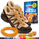 DIAGONAL ONE Elastic Shoe Laces for Men and