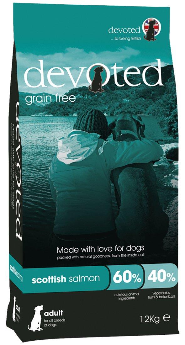 12 kg Devoted Dog Food Grain Free Scottish Salmon 12 kg