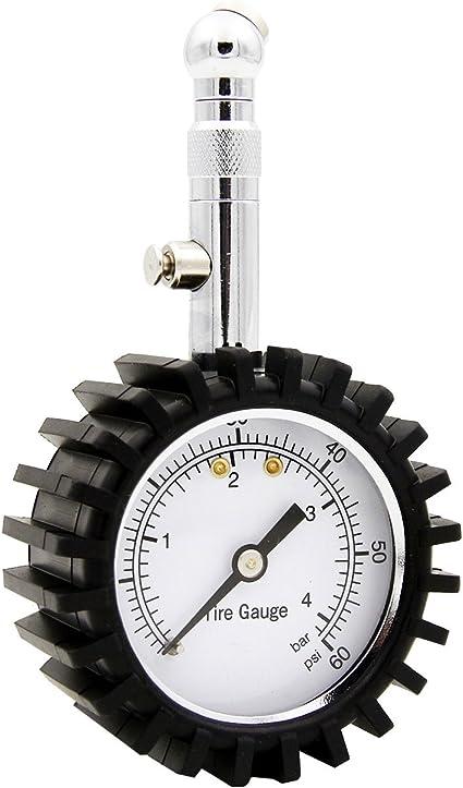 Lumiereholic Medidor digital de presión de neumáticos para coche ...