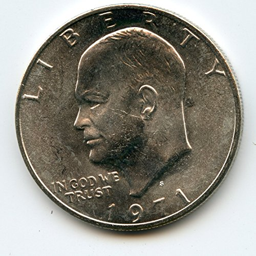 1971 S Eisenhower Dollar MS-65