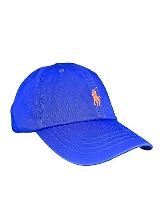 Polo Ralph Lauren Gorra Royal Azul Hombre y Mujer U Azul: Amazon ...