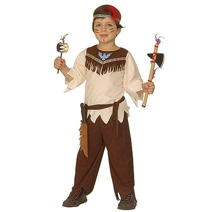 NET TOYS Disfraz de Jefe Indio Jefe Infantil Traje Carnaval ...