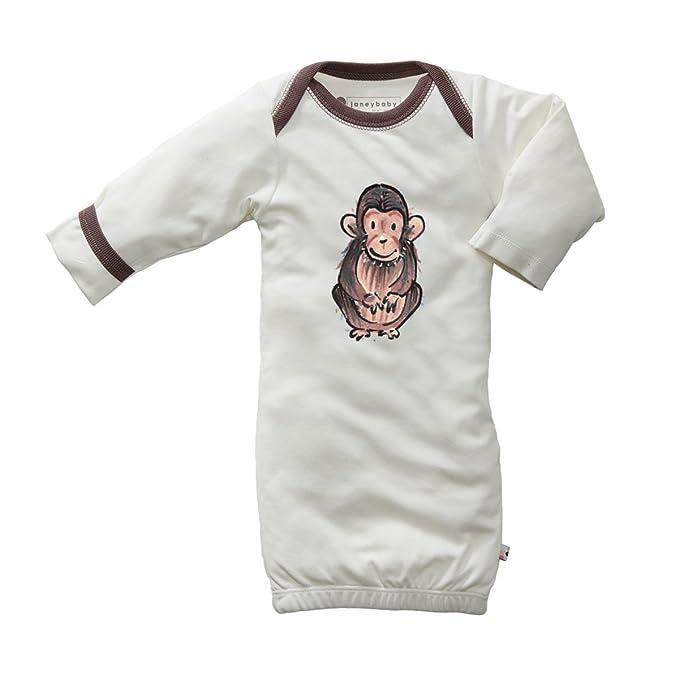 Amazon.com: Babysoy Jane Goodall Animal Long Sleeve Newborn ...
