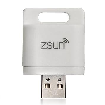 Zsun® Wifi lector de tarjetas de memoria TF MicroSD USB ...