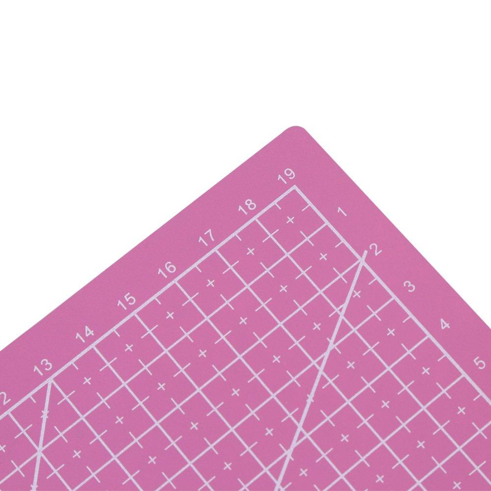 Quilten A5 Durable PVC Schneidematte 210 /× 150 mm Bunte Selbstheilende Schneidauflage Pink N/ähen und Kunsthandwerk Projects Tool Rutschfeste Schneidebrett f/ür DIY Handmade