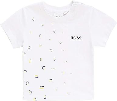 BOSS Camiseta 100% algodón Infantil: Amazon.es: Ropa y accesorios