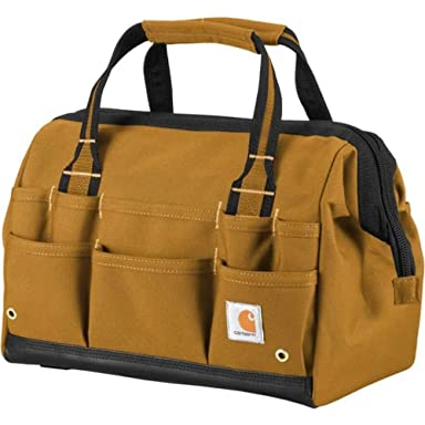 Carhartt Legacy 14-in Tool Bag 260105: Carhartt Brown