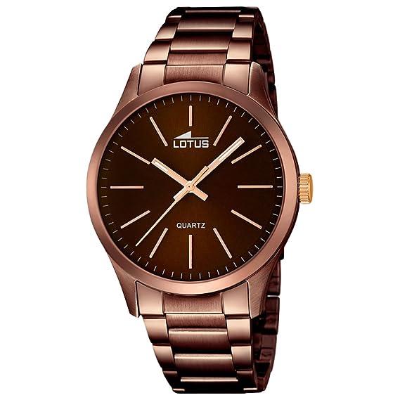 Lotus reloj hombre cronógrafo Klassik Smart Casual 18245/2: Lotus: Amazon.es: Relojes