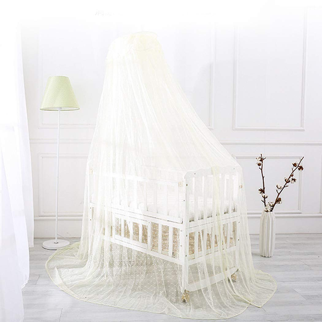 Outgeek Mosquito Net Stand Holder Set Universal Adjustable Clip-on Crib Canopy Holder