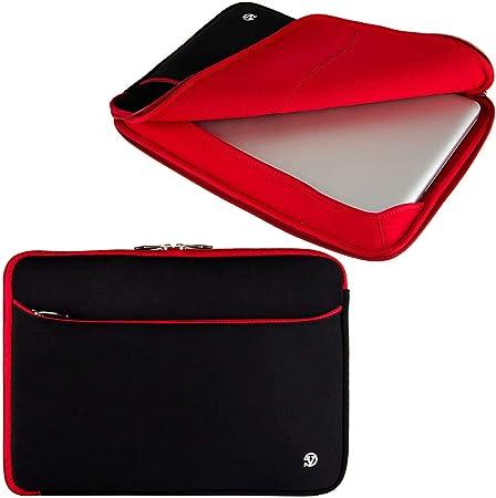 IdeaPad ThinkPad Red Slim Diamond Laptop Sleeve for Lenovo Flex Yoga 14 to 15.6 inch